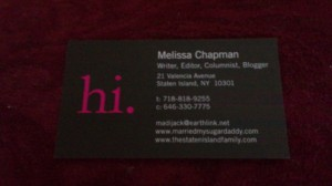 I designed my tiny prints business cards not my husband the my new tiny prints business cards colourmoves