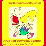 Free and low-cost summer activities for kids!
