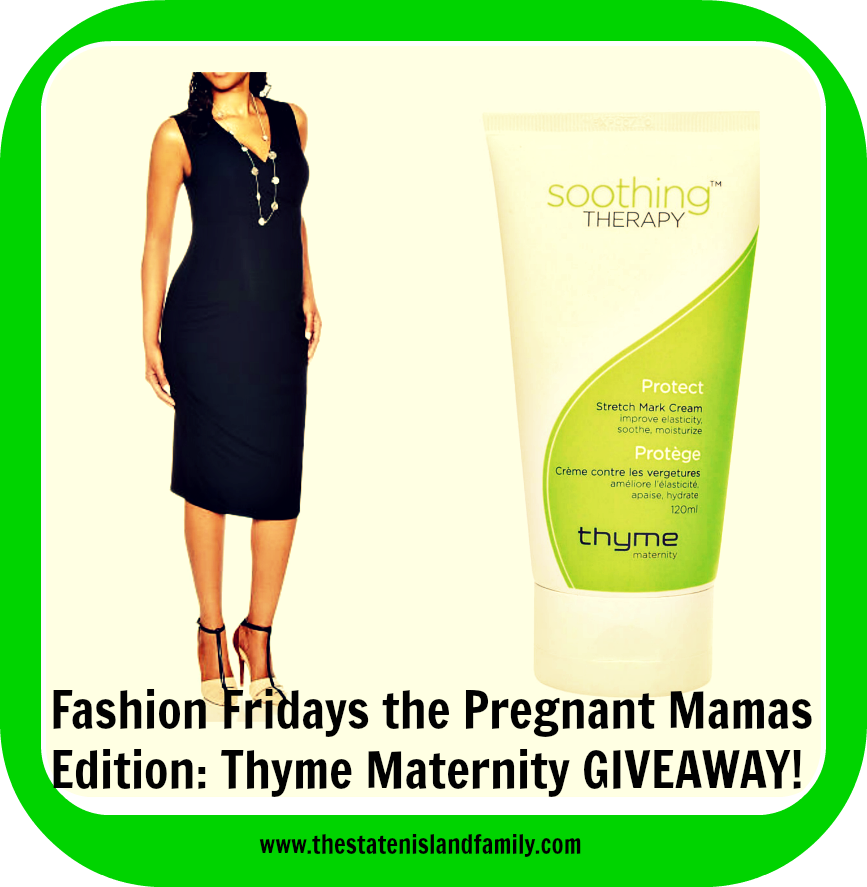 Fashion Fridays the Pregnant Mamas Edition: Thyme Maternity GIVEAWAY!
