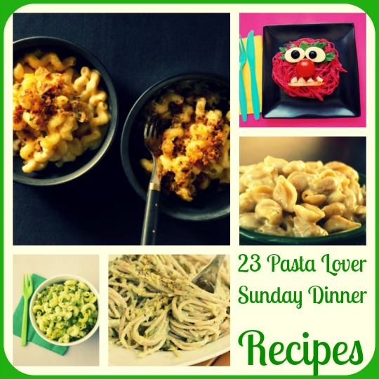 23 Pasta Lover  Sunday Dinner  Recipes