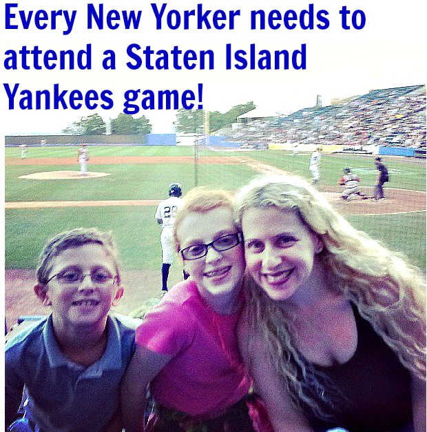 Every New Yorker needs to attend a Staten Island Yankees game!