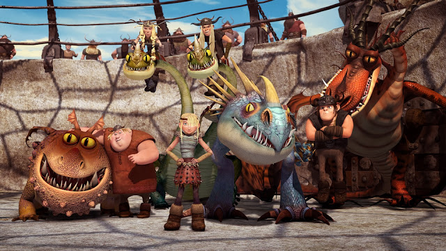 Win Dragons: Riders of Berk Parts 1 & 2 DVDs for your LIL VIKING at TheStatenIslandfamily.com