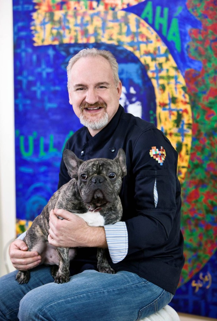 Art Smith and his precious furkid