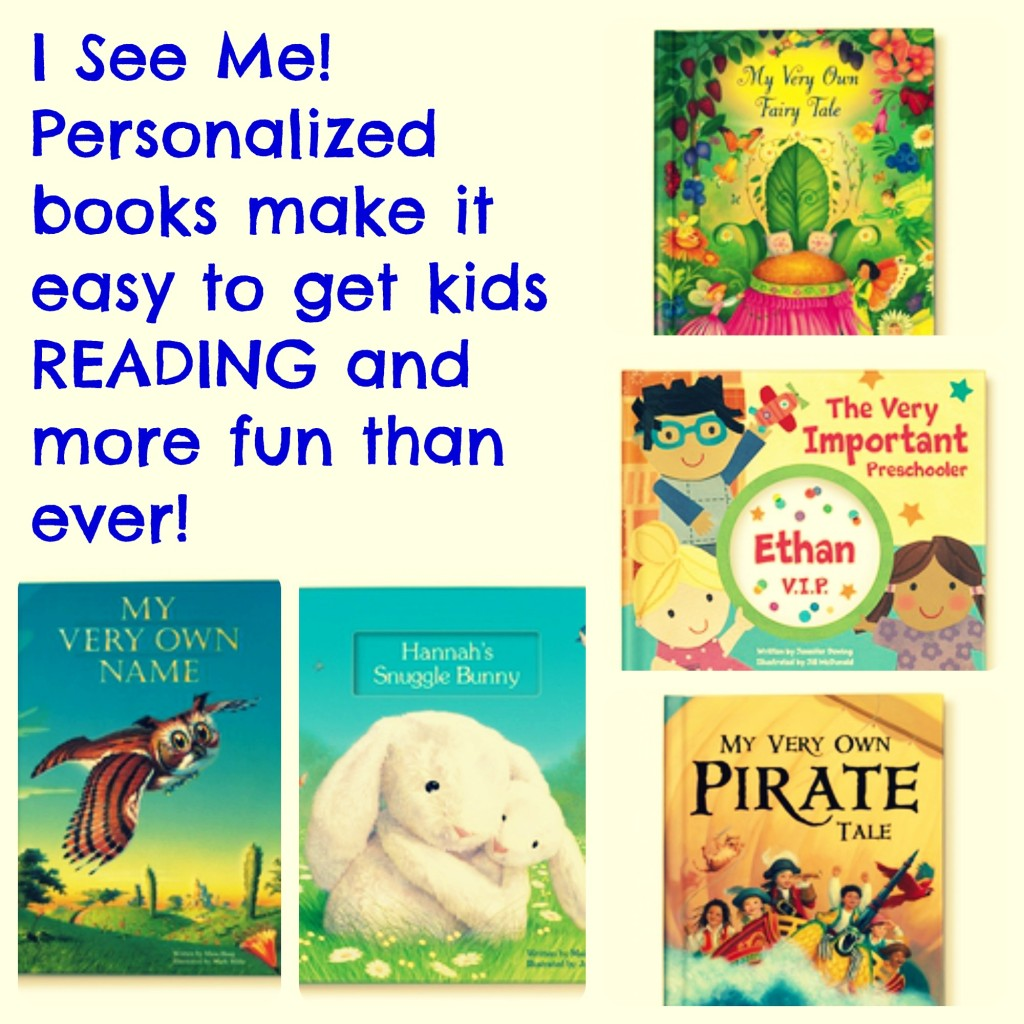 I See Me! Personalized books make it easy to get kids READING and more fun than ever!