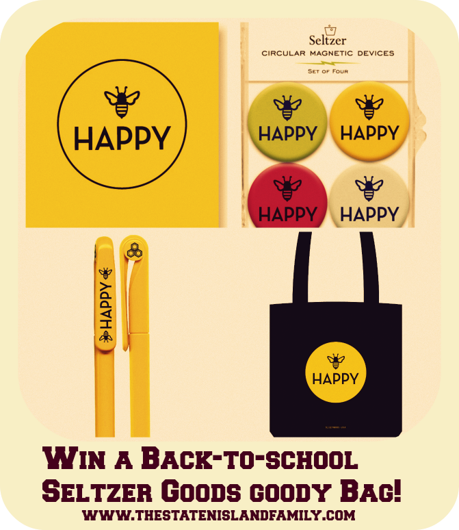 Win a Back-to-school Seltzer Goods goody Bag!          www.thestatenislandfamily.com