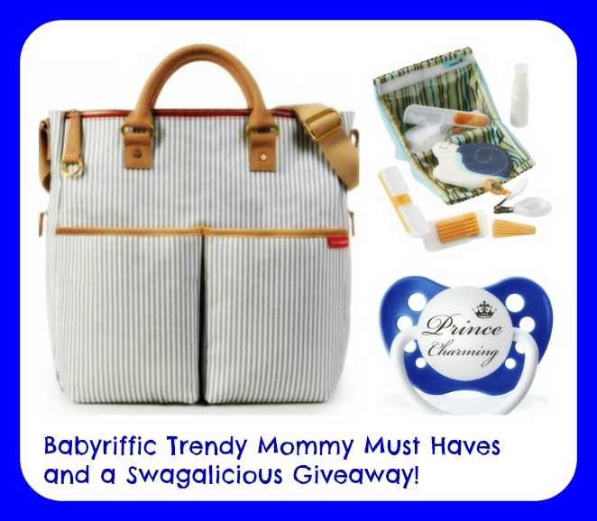 Babyriffic Trendy Mommy Must Haves and a Swagalicious Giveaway!