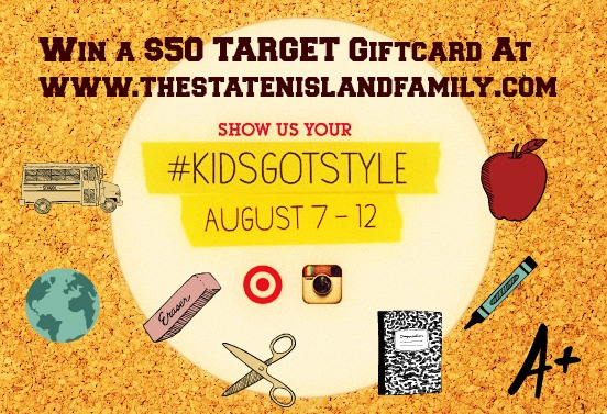 Win a $50 Target giftcard from www.thestatenislandfamily.com