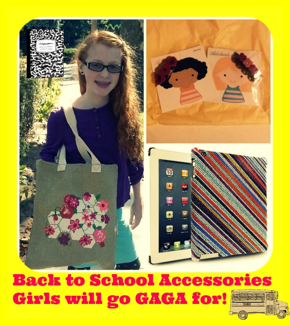 Back to School Accessories Girls will go GAGA for!