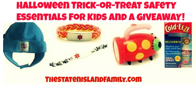 Halloween Trick-or-Treat Safety Essentials for Kids and a GIVEAWAY!