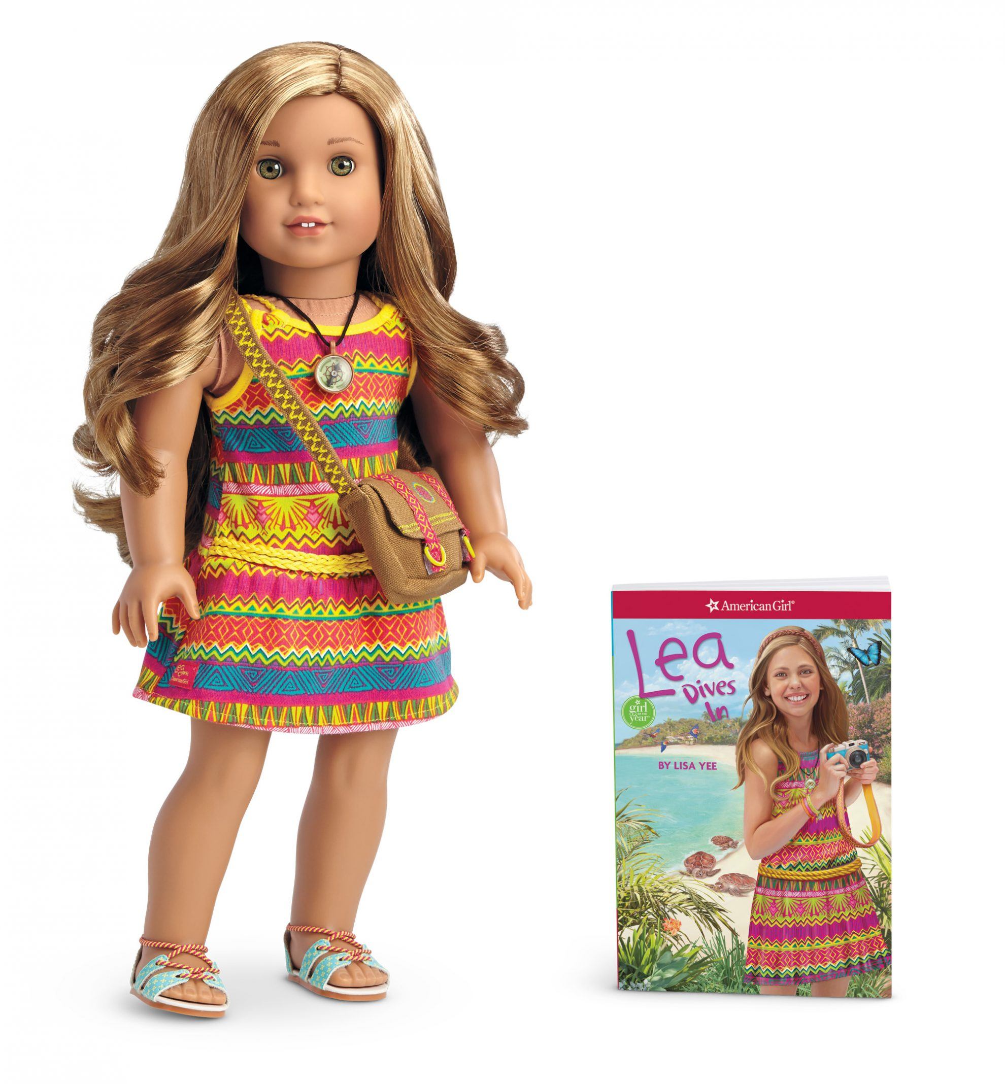 This Holiday Let American Girl Doll Invite Your Child on an Adventure and win Lea and Win a Lea doll and a Lea to the Rescue Blu-Ray/DVD Combo pack