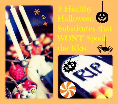 3 Healthy Halloween Substitutes that WON'T Spook the Kids