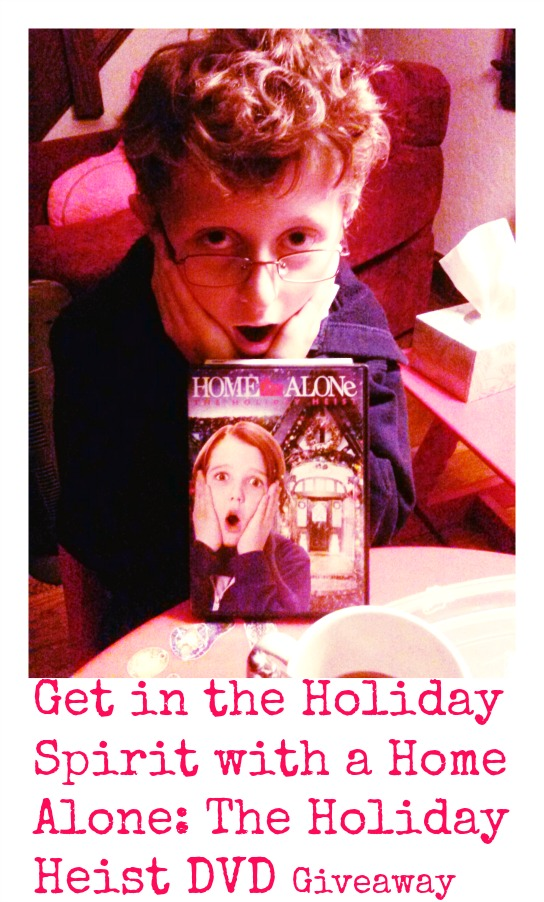 Home Alone: The Holiday Heist DVD Giveaway #FHEInsiders