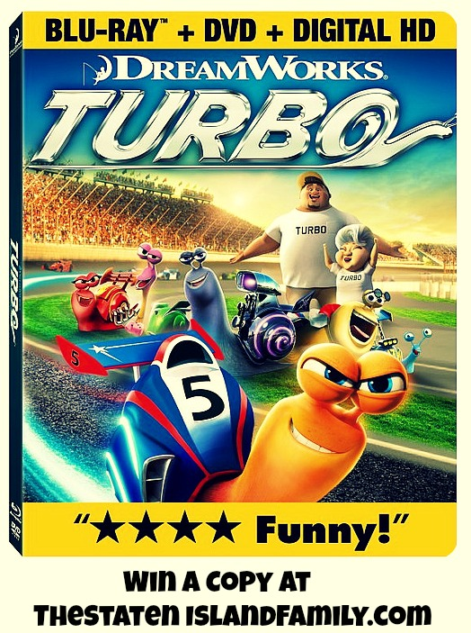 Win a Copy of Turbo The Movie at  TheStatenIslandFamily.com
