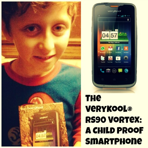 The verykool® RS90 Vortex: A Child Proof SmartPhone