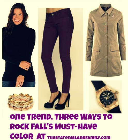 One Trend, Three Ways to ROCK Fall's Must-Have Color  at TheStatenIslandfamily.com