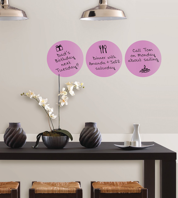 WallPops Plush Dry Erase Dots, $14.99,