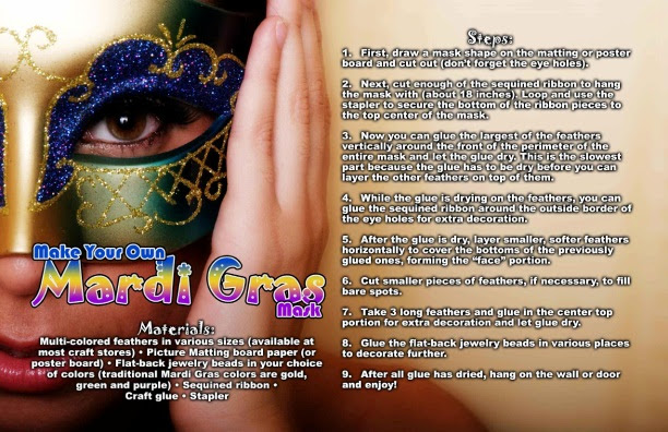 Make Your Own Mardi Gras Mask