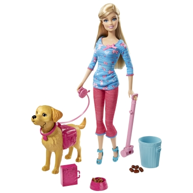 Win a Barbie and Potty Training Taffy Set of Dolls!