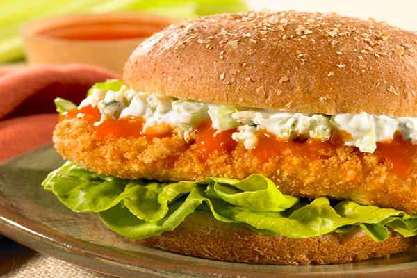 Recipe for Buffalo Chicken Sandwiches