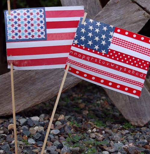 4 Memorial Day Weekend Recipes Kids Can Make And a Fun Patriotic FLAG CRAFT!