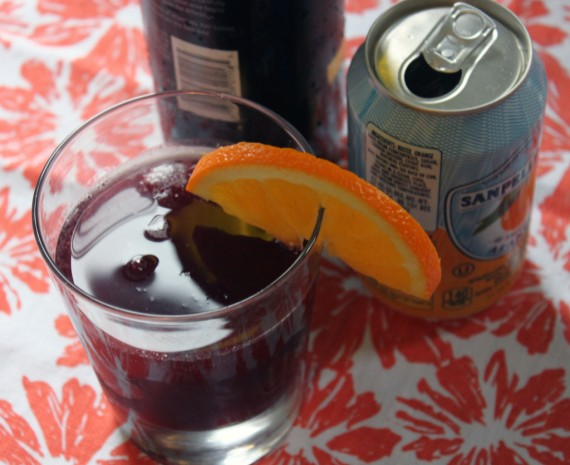 Red Wine Spritzer Recipe