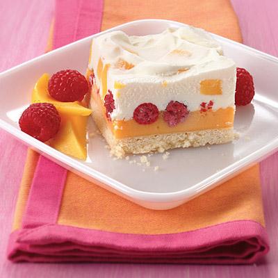 Frozen Mango-Cream Cakes Recipe — Dishmaps