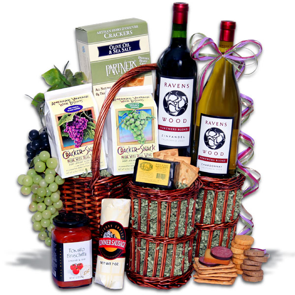 Win a Wine Party Picnic Gift Basket - Ravenswood Duo ($99.99) at http://www.TheStatenIslandFamily.com
