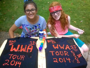 The Sunday Swoon: How to DIY Your Very Own One Direction Concert T-Shirt