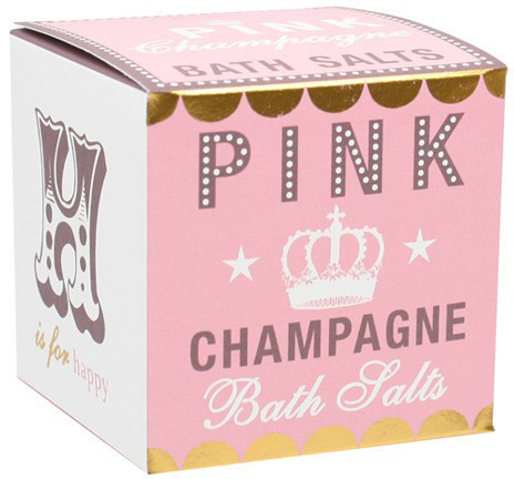 Bath House Pink Champagne Bath Salts