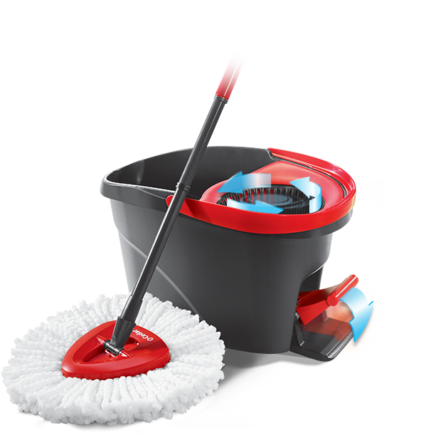 The O Cedar Easywring Spin Mop Amp Bucket System Is An