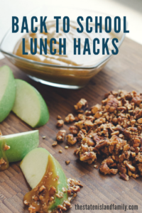 Back To School Nutritional Lunch Hacks and Healthy Recipes