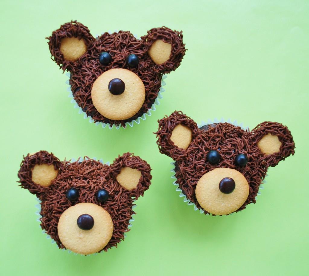 Make A Teddy Bear Cupcake Cake