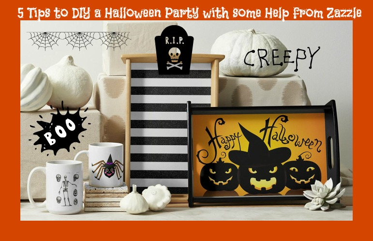 5 Tips to DIY a Halloween Party with some Help from Zazzle