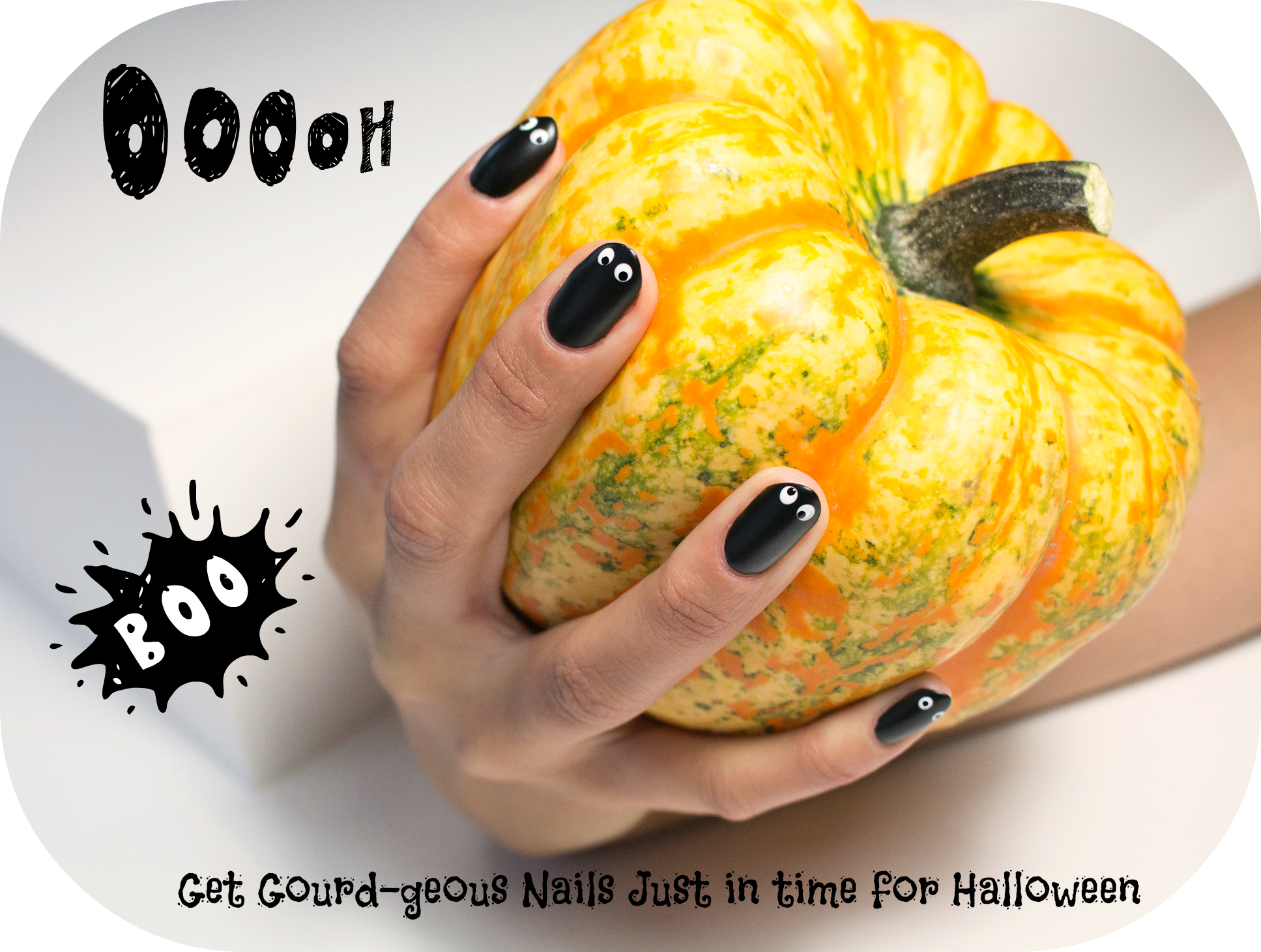 Get Gourd-geous Nails Just in time for Halloween