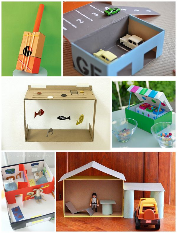 shoebox crafts ideas diy educational toys made from recycled items 2927