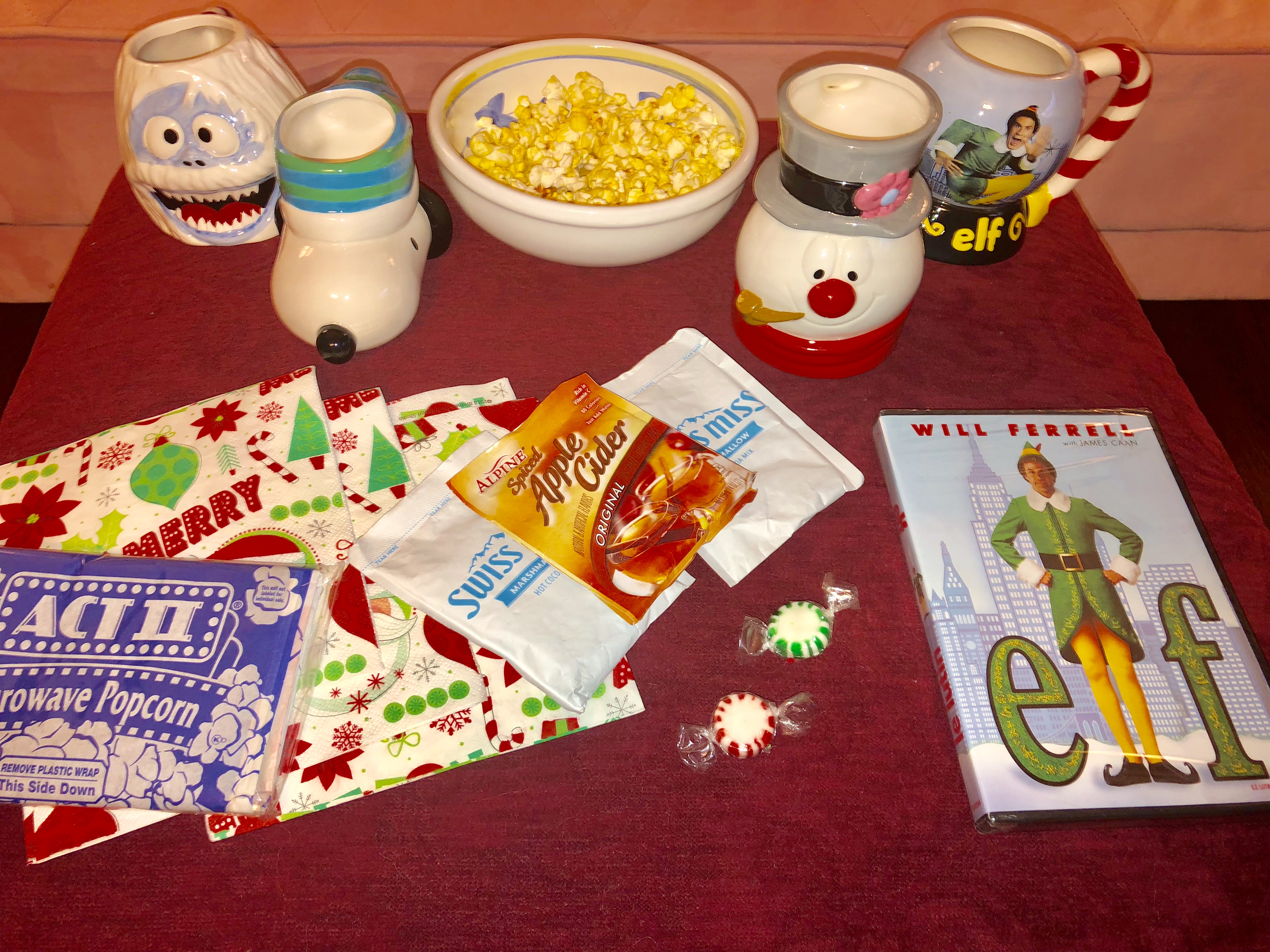 Family Movie Night Crafts and Treats