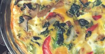 Easy Weight Watchers Breakfast Crustless Frittata Recipe– Zero Freestyle Points