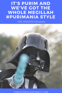 It's PURIM and We've Got the Whole Megillah #Purimania Style