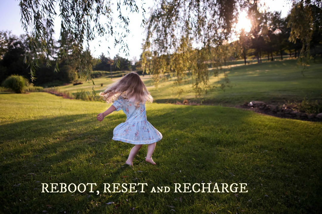 REBOOT RESET and RECHARGE Unplug Your Family