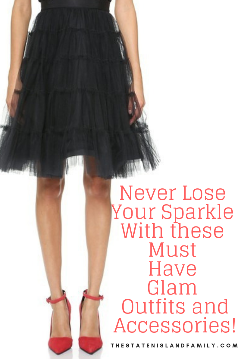 Never Lose Your Sparkle With these Must Have Glam Outfits and Accessories!