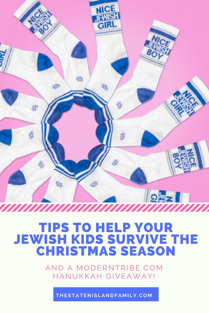 help your Jewish kids survive the Christmas season