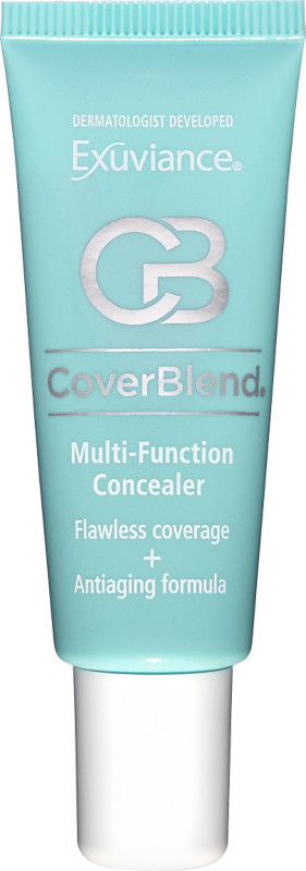 Conceal and correct skin flaws such as dark eye circles, blemishes, acne marks, tattoos, and age spots with CoverBlend Multi-Function Concealer