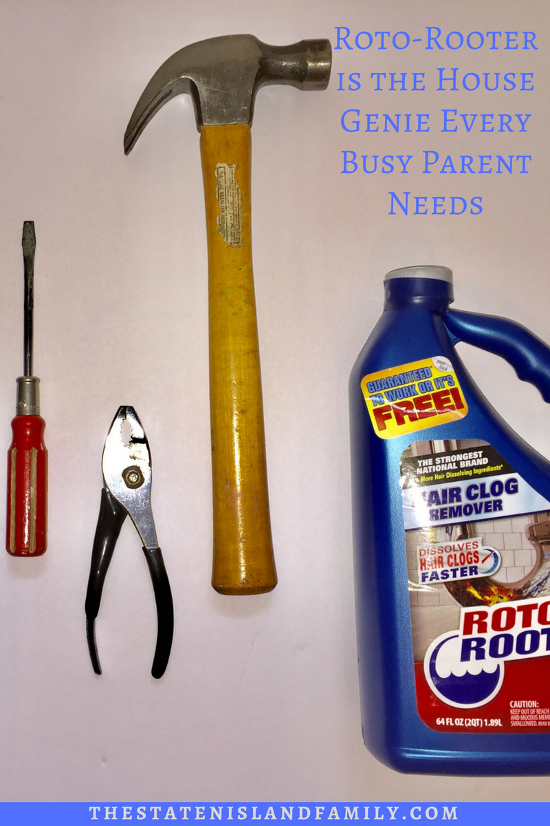 Roto Rooter Is The House Genie Every Busy Parent Needs