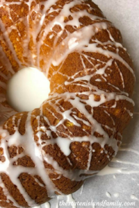 Weight Watchers Lemon Pound Cake