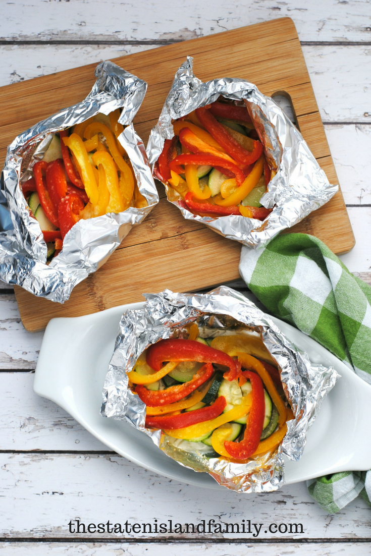 veggie foil packs