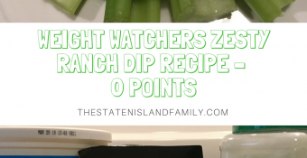 Weight Watchers Zesty Ranch Dip Recipe – 0 Points