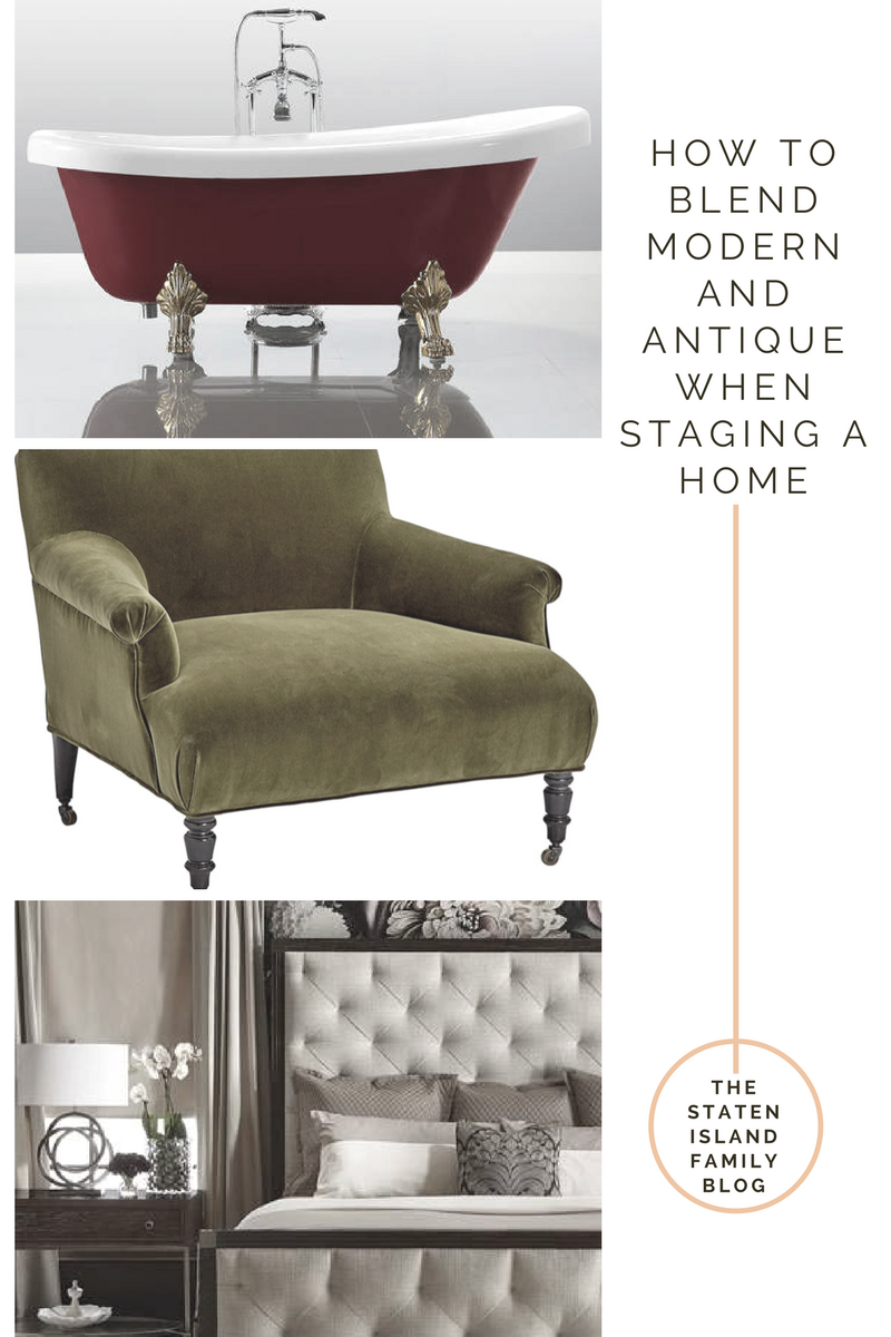How to Blend Modern and Antique When Staging a Home