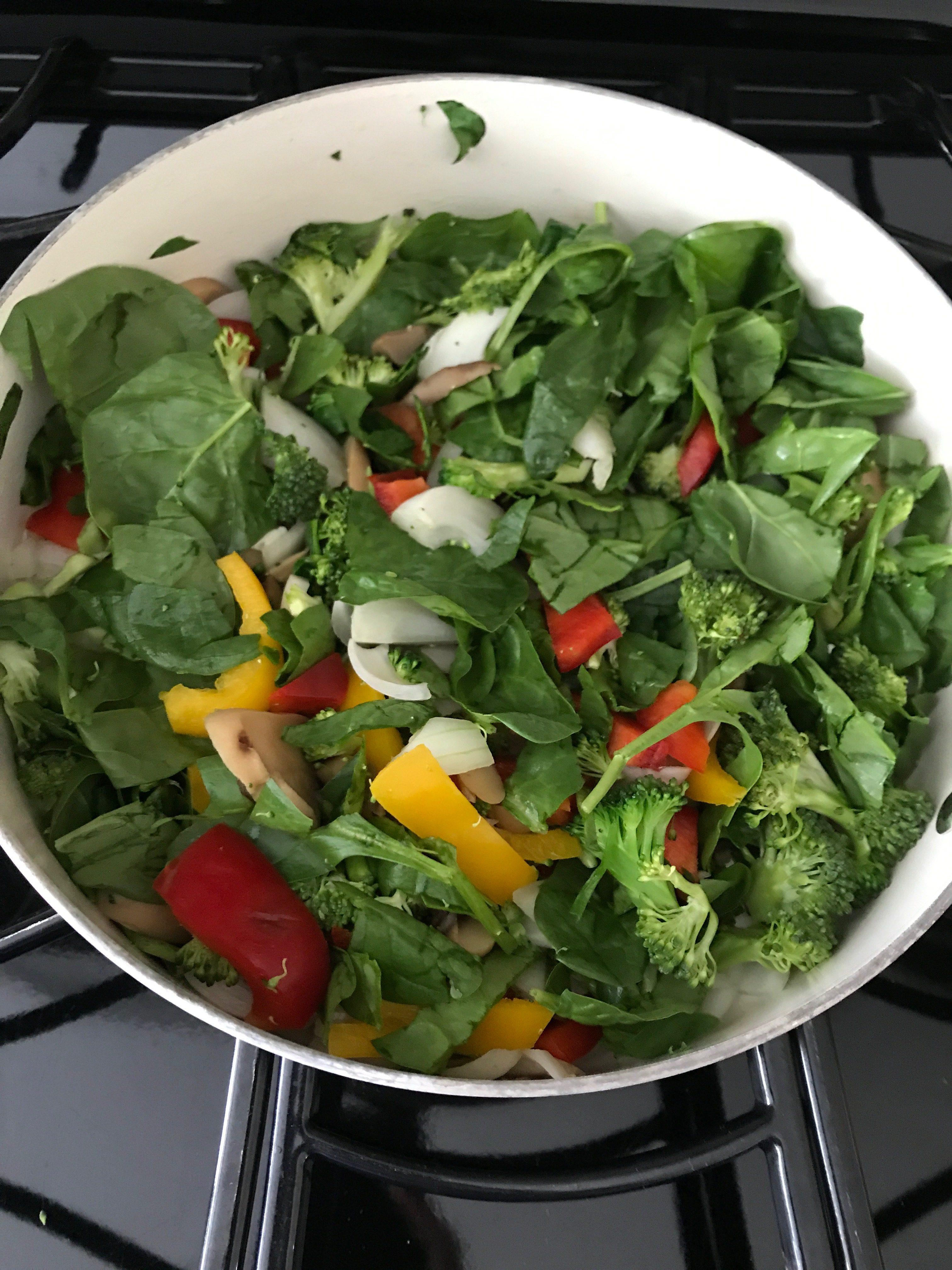 Easy Weight Watchers Breakfast Crustless Frittata Recipe-- Zero Freestyle Points