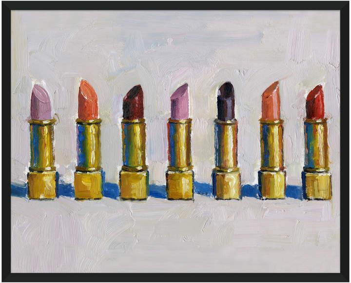 Soicher Marin Lipstick Painting by Soicher Marin