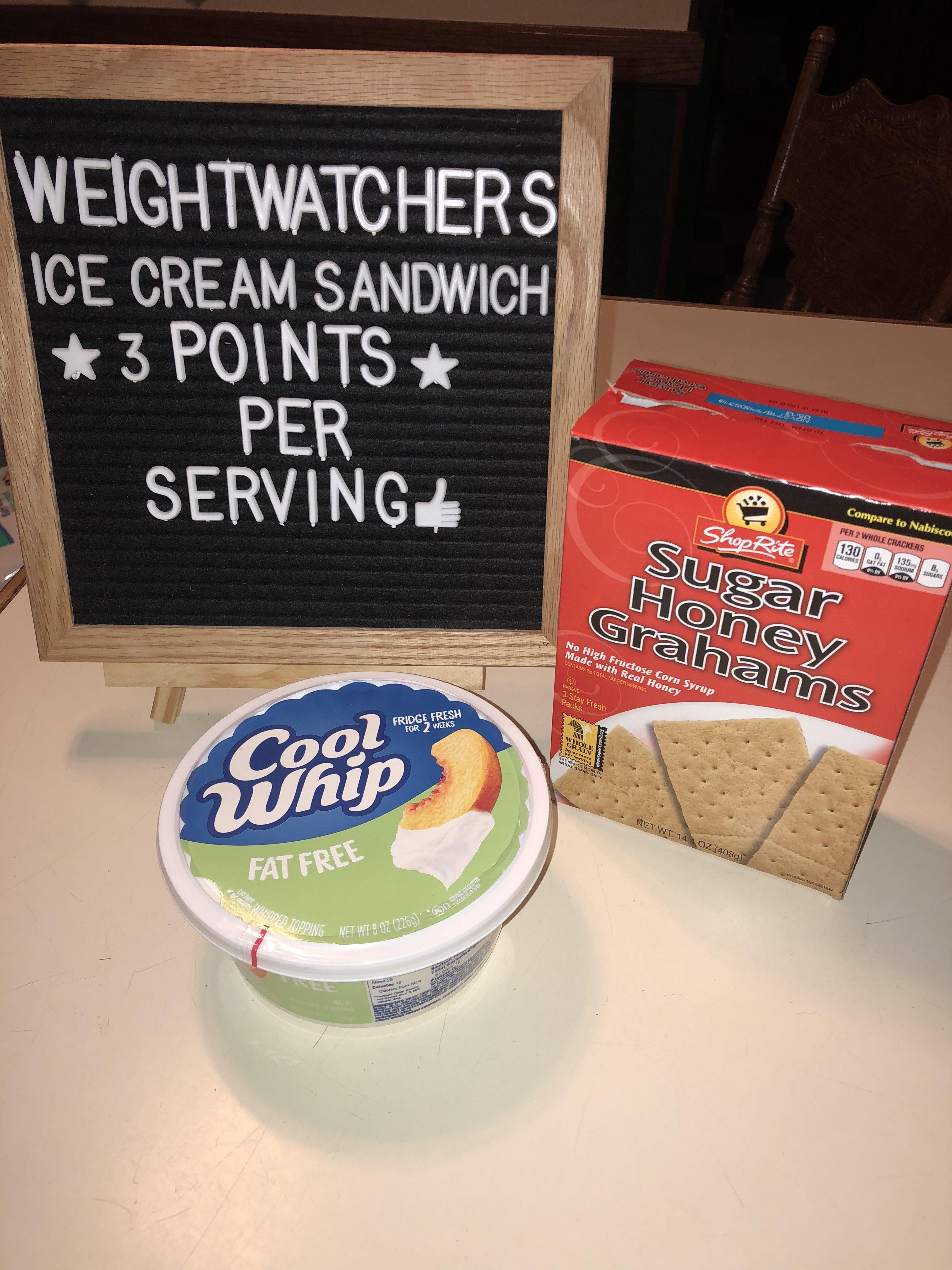 Weight Watchers Faux Ice Cream Sandwich Recipe - Just 3 Smart Points per sandwich
